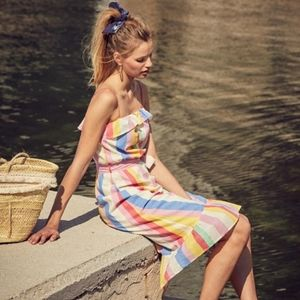 Sezane *Cassandra* Striped Dress